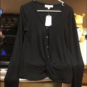 Women's New Black shirt Size Medium
